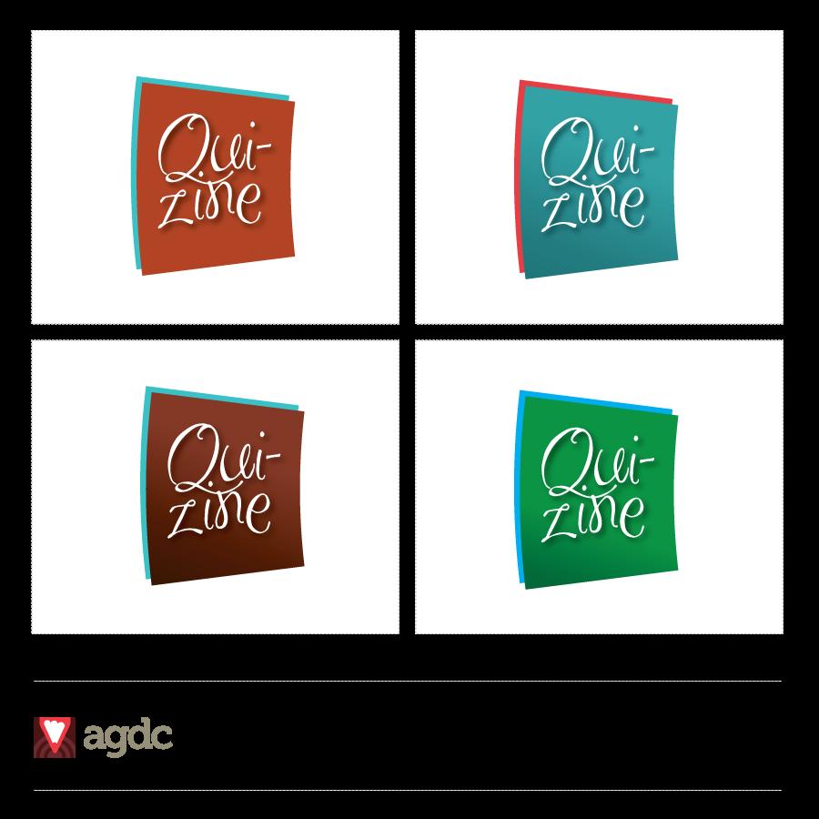 Logo Design by Private User - Entry No. 19 in the Logo Design Contest Quizine Logo Design.