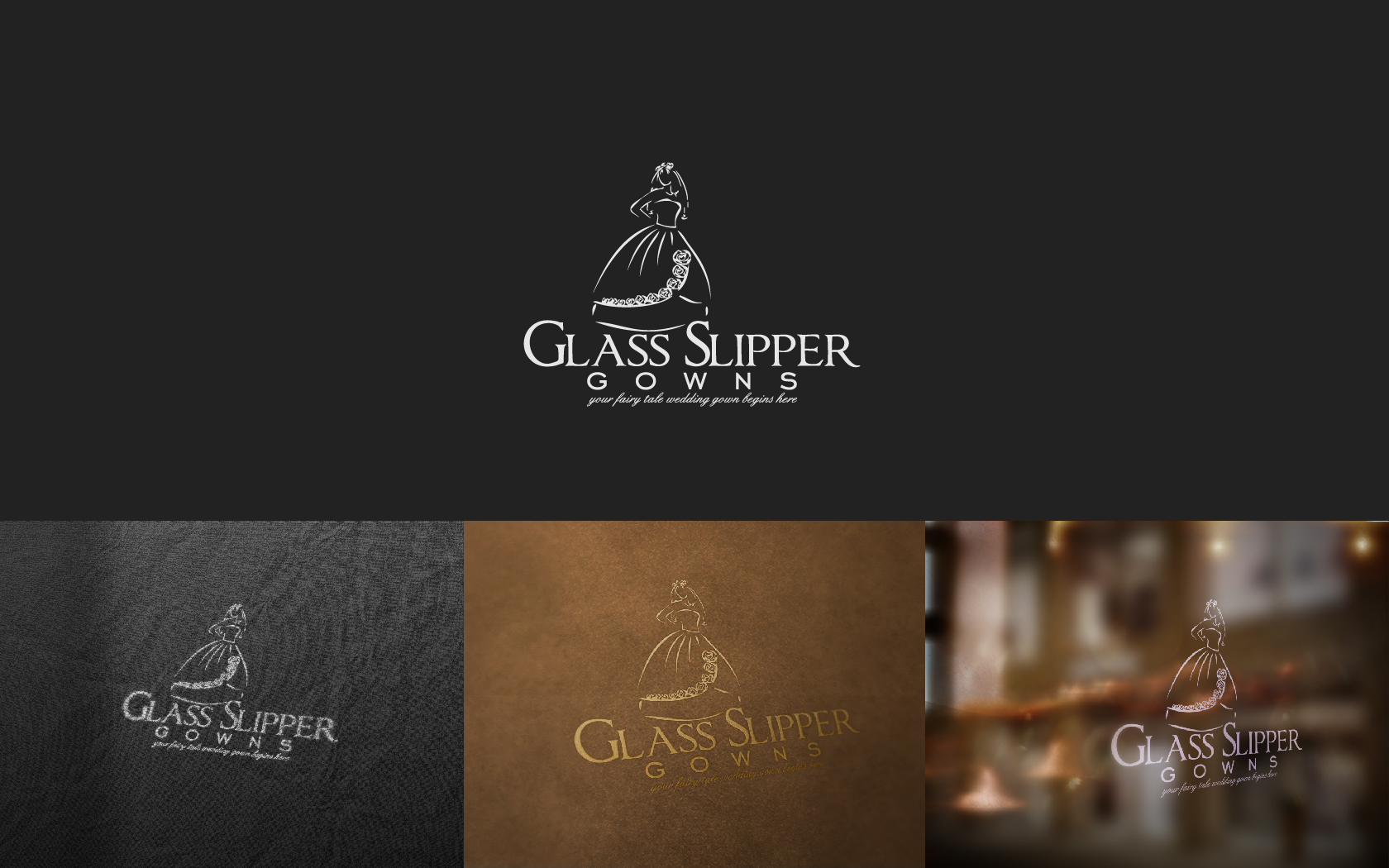 Logo Design by Valentin Zbant - Entry No. 74 in the Logo Design Contest New Logo Design for Glass Slipper Gowns.