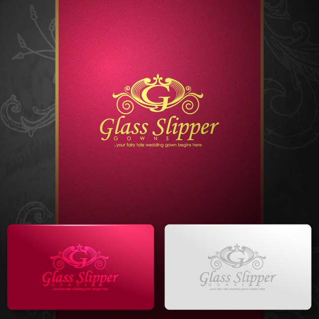 Logo Design by zesthar - Entry No. 76 in the Logo Design Contest New Logo Design for Glass Slipper Gowns.