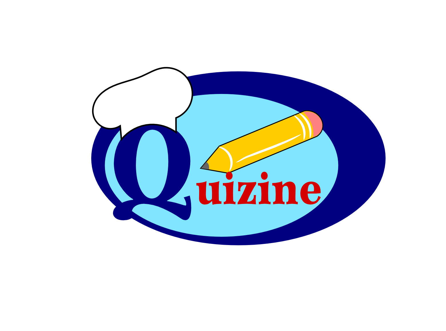 Logo Design by Joseph calunsag Cagaanan - Entry No. 21 in the Logo Design Contest Quizine Logo Design.