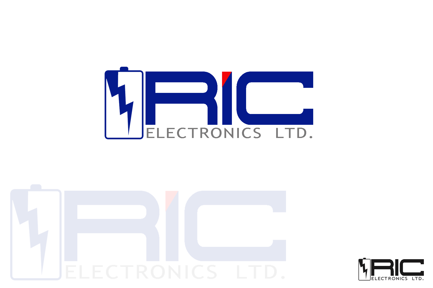 Logo Design by Golden_Hand - Entry No. 58 in the Logo Design Contest New Logo Design for RIC Electronics Ltd..