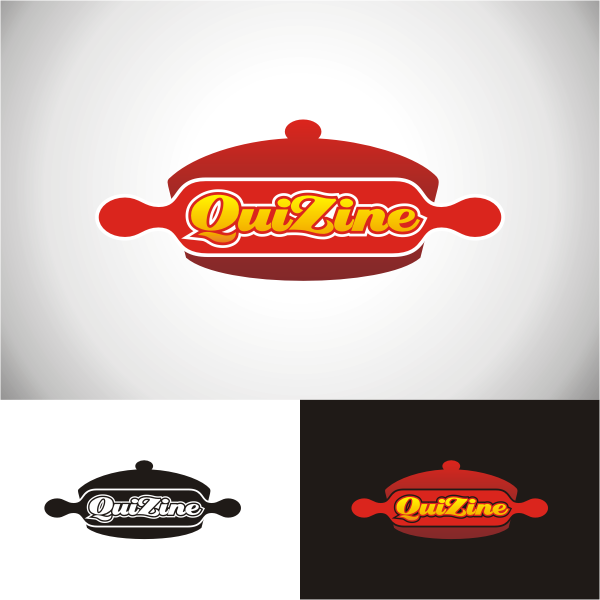Logo Design by Arip Novi - Entry No. 23 in the Logo Design Contest Quizine Logo Design.