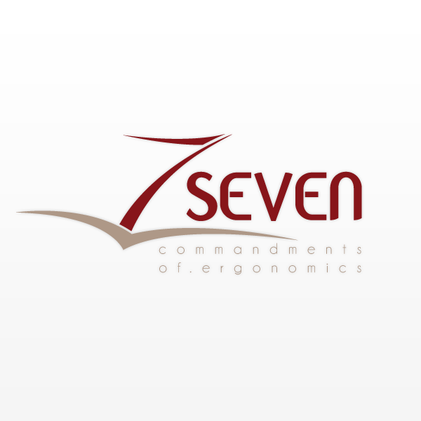Logo Design by Pim VdVossen - Entry No. 33 in the Logo Design Contest Logo Design for Seven Commandments of Ergonomics.