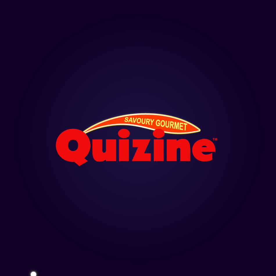 Logo Design by moonflower - Entry No. 33 in the Logo Design Contest Quizine Logo Design.