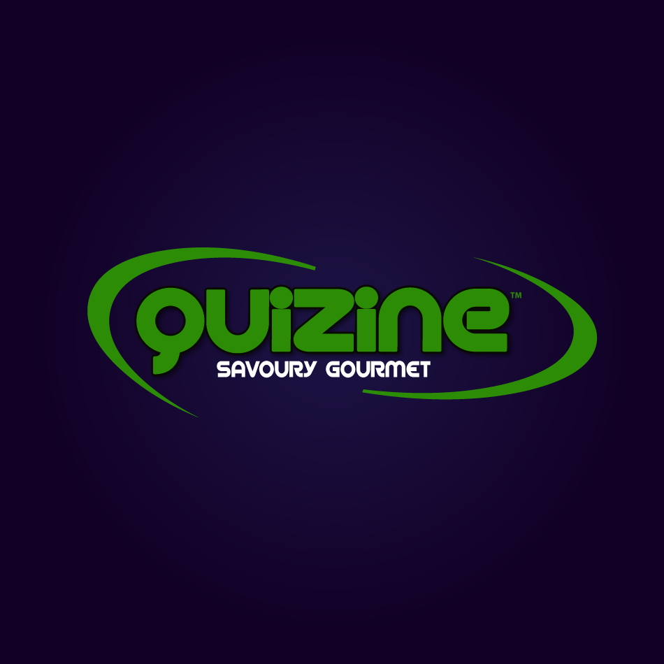 Logo Design by moonflower - Entry No. 35 in the Logo Design Contest Quizine Logo Design.