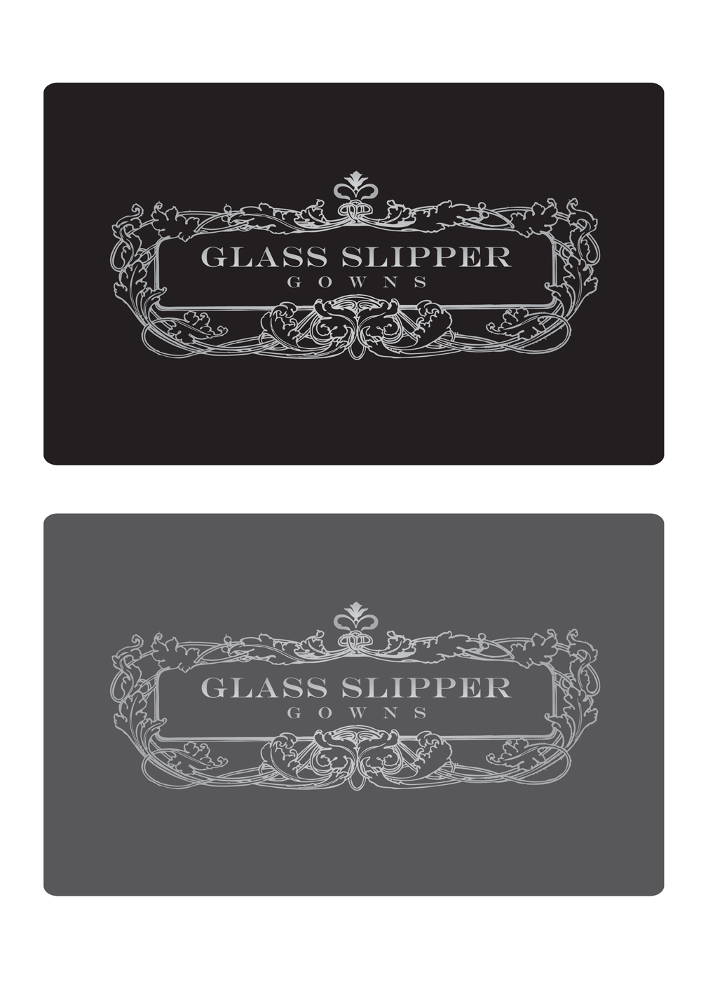 Logo Design by Private User - Entry No. 90 in the Logo Design Contest New Logo Design for Glass Slipper Gowns.