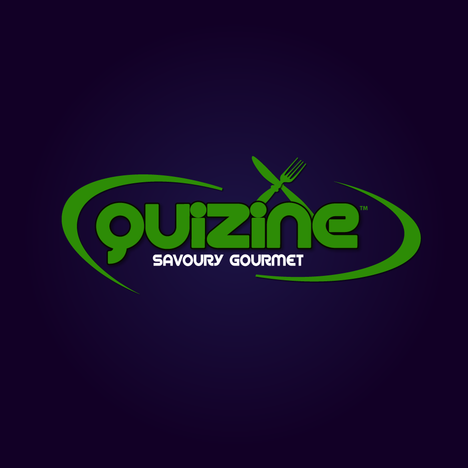 Logo Design by moonflower - Entry No. 36 in the Logo Design Contest Quizine Logo Design.