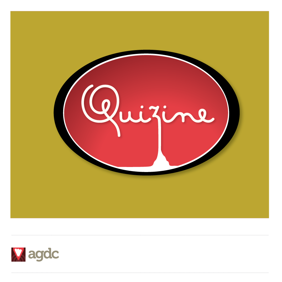 Logo Design by Private User - Entry No. 37 in the Logo Design Contest Quizine Logo Design.