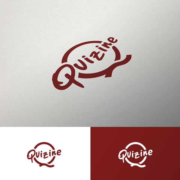Logo Design by GMarc - Entry No. 40 in the Logo Design Contest Quizine Logo Design.