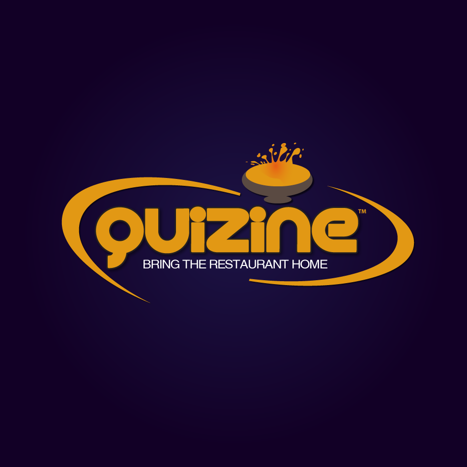 Logo Design by moonflower - Entry No. 41 in the Logo Design Contest Quizine Logo Design.