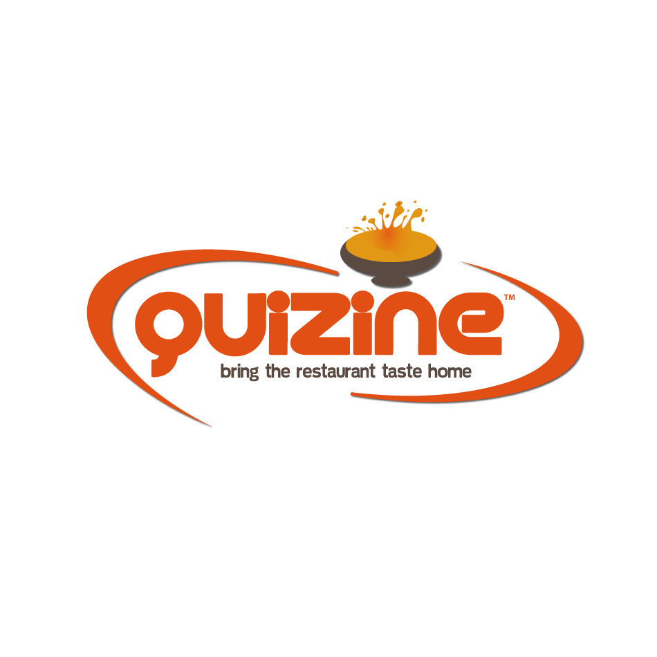 Logo Design by moonflower - Entry No. 45 in the Logo Design Contest Quizine Logo Design.