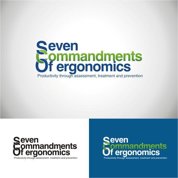 Logo Design by Arip Novi - Entry No. 34 in the Logo Design Contest Logo Design for Seven Commandments of Ergonomics.