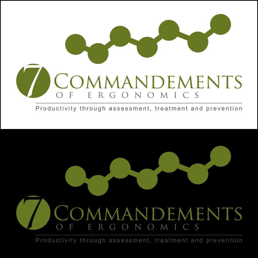 Logo Design by Dee - Entry No. 36 in the Logo Design Contest Logo Design for Seven Commandments of Ergonomics.