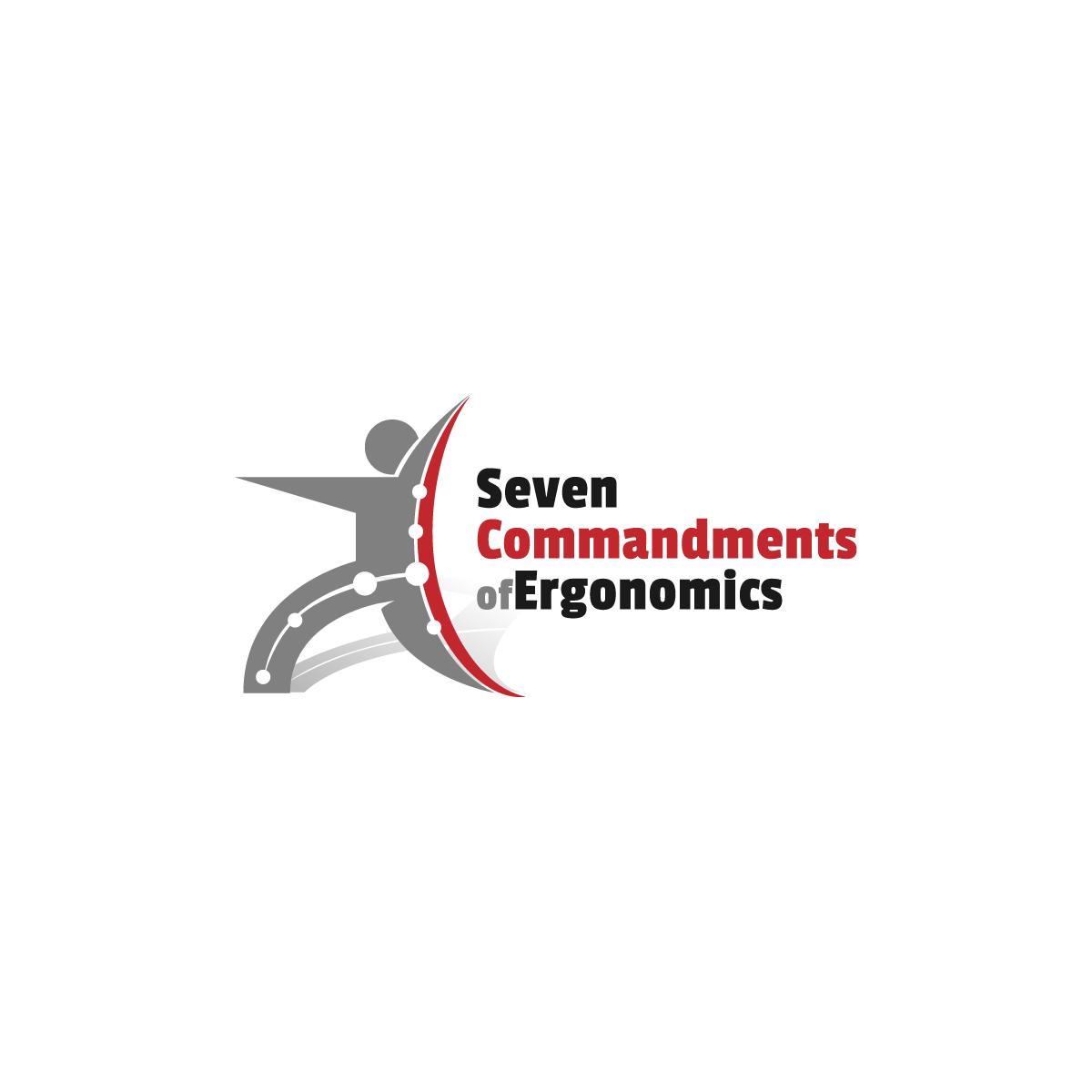 Logo Design by zesthar - Entry No. 38 in the Logo Design Contest Logo Design for Seven Commandments of Ergonomics.