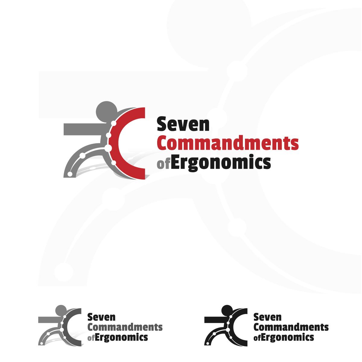 Logo Design by zesthar - Entry No. 39 in the Logo Design Contest Logo Design for Seven Commandments of Ergonomics.