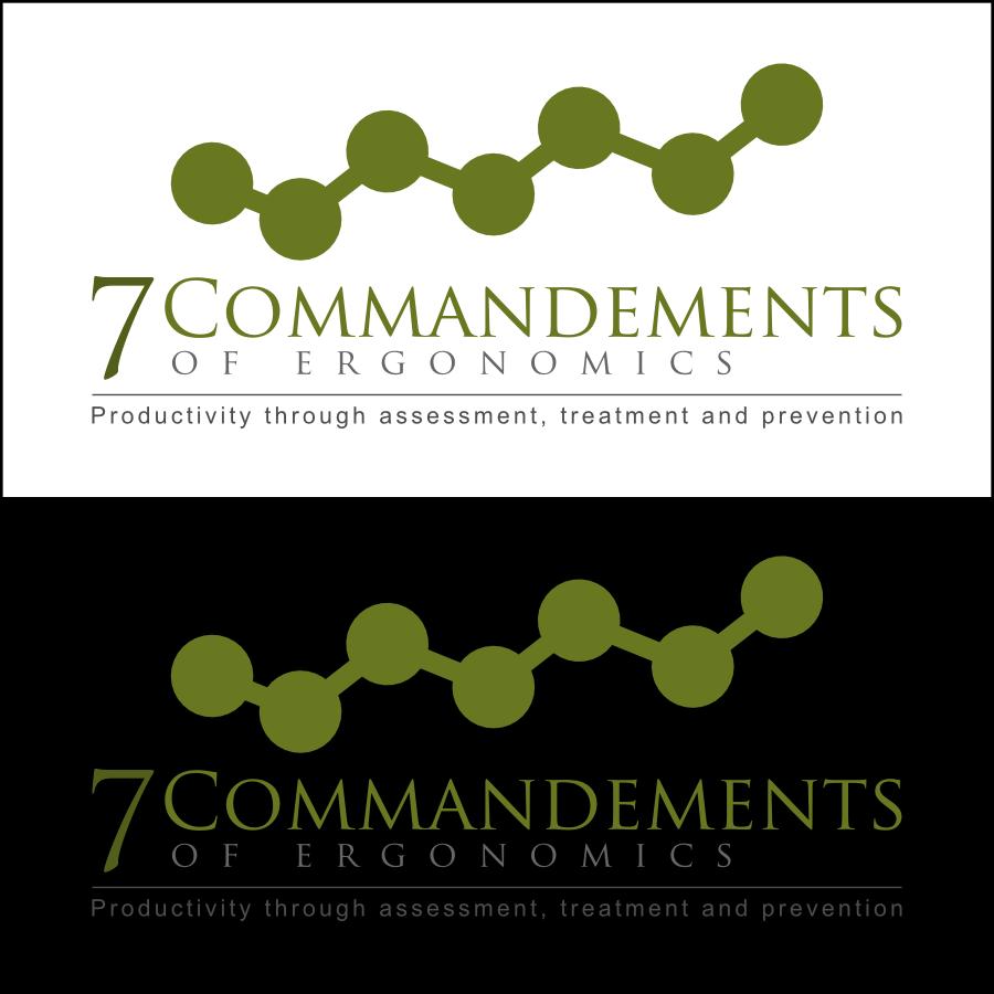 Logo Design by Dee - Entry No. 40 in the Logo Design Contest Logo Design for Seven Commandments of Ergonomics.