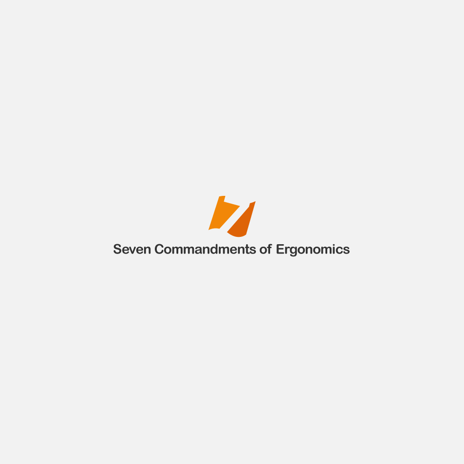 Logo Design by GraySource - Entry No. 41 in the Logo Design Contest Logo Design for Seven Commandments of Ergonomics.