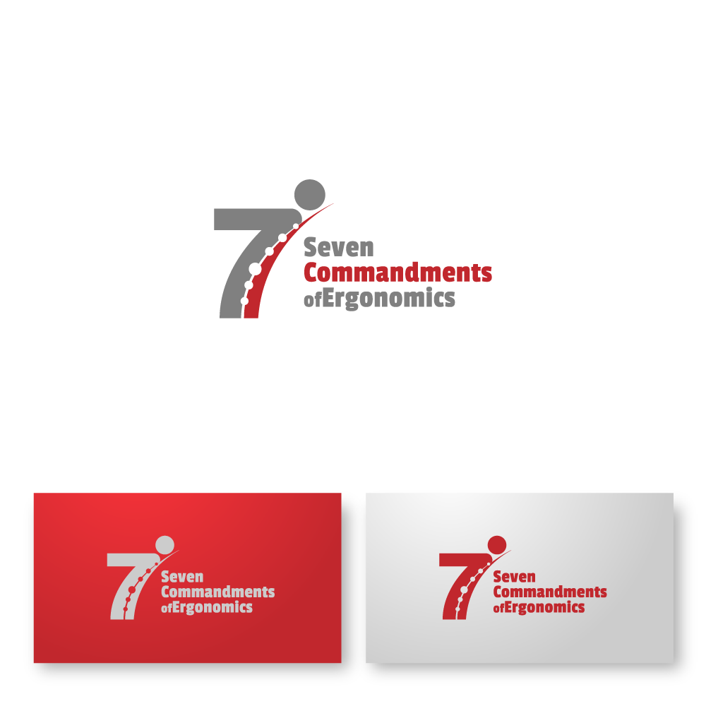 Logo Design by zesthar - Entry No. 43 in the Logo Design Contest Logo Design for Seven Commandments of Ergonomics.