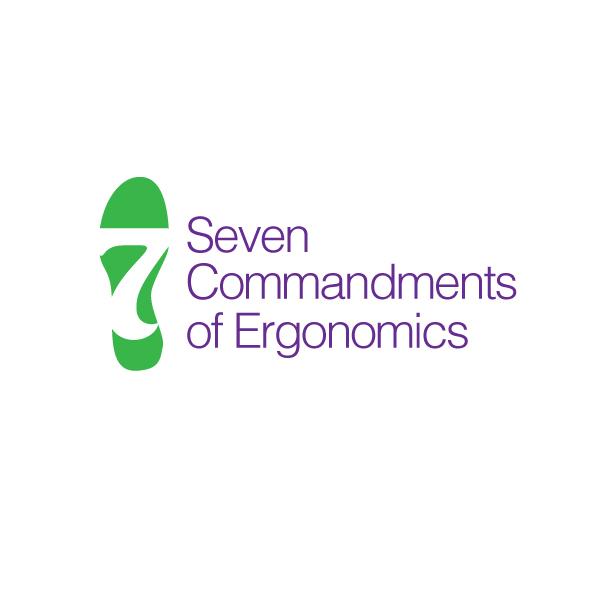 Logo Design by storm - Entry No. 45 in the Logo Design Contest Logo Design for Seven Commandments of Ergonomics.