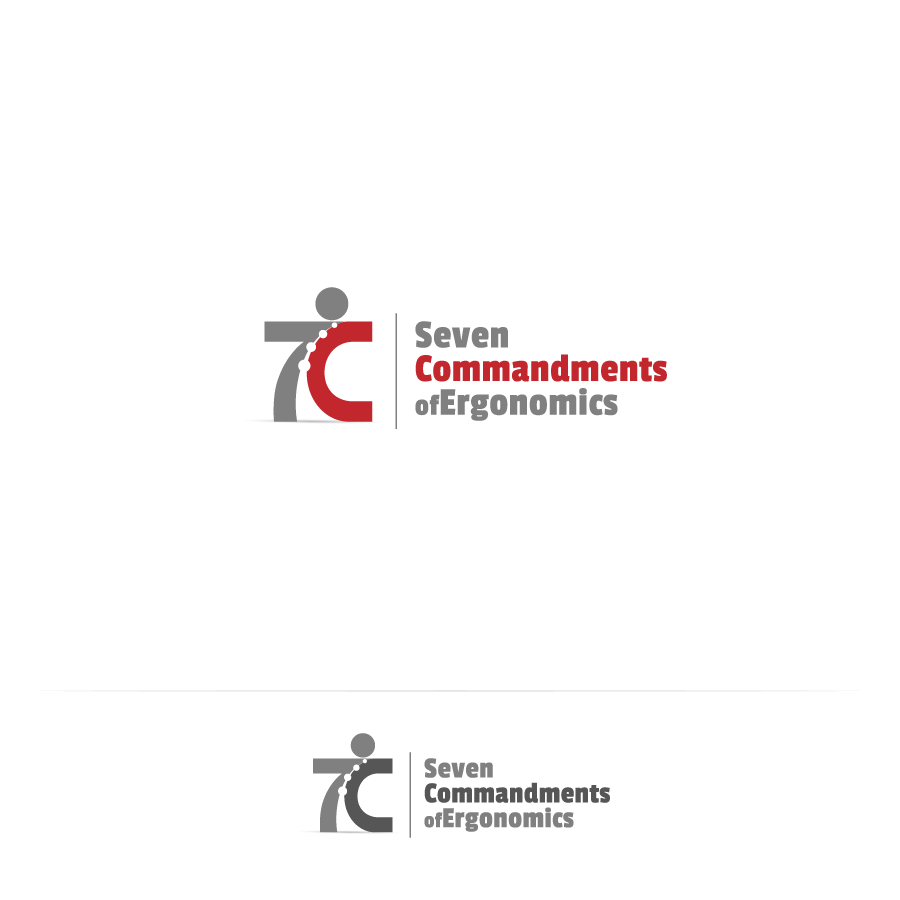 Logo Design by zesthar - Entry No. 48 in the Logo Design Contest Logo Design for Seven Commandments of Ergonomics.