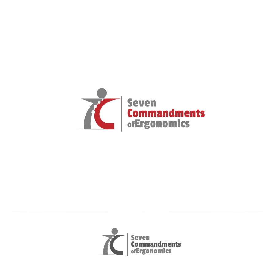 Logo Design by zesthar - Entry No. 49 in the Logo Design Contest Logo Design for Seven Commandments of Ergonomics.