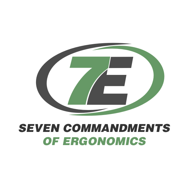 Logo Design by Rudy - Entry No. 51 in the Logo Design Contest Logo Design for Seven Commandments of Ergonomics.