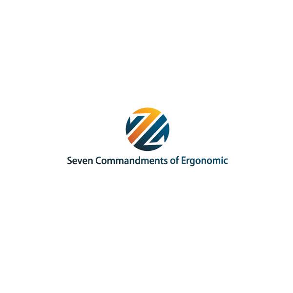 Logo Design by Pandu Wijaya - Entry No. 53 in the Logo Design Contest Logo Design for Seven Commandments of Ergonomics.