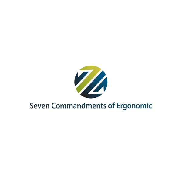 Logo Design by Pandu Wijaya - Entry No. 55 in the Logo Design Contest Logo Design for Seven Commandments of Ergonomics.