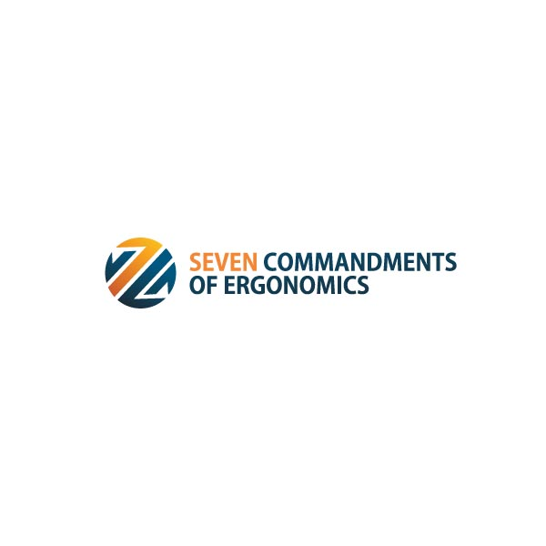 Logo Design by Pandu Wijaya - Entry No. 56 in the Logo Design Contest Logo Design for Seven Commandments of Ergonomics.