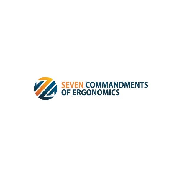 Logo Design by Pandu Wijaya - Entry No. 56 in the Logo Design Contest Logo Design for Seven Commandments of Ergonomics.