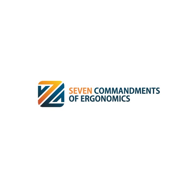 Logo Design by Pandu Wijaya - Entry No. 57 in the Logo Design Contest Logo Design for Seven Commandments of Ergonomics.