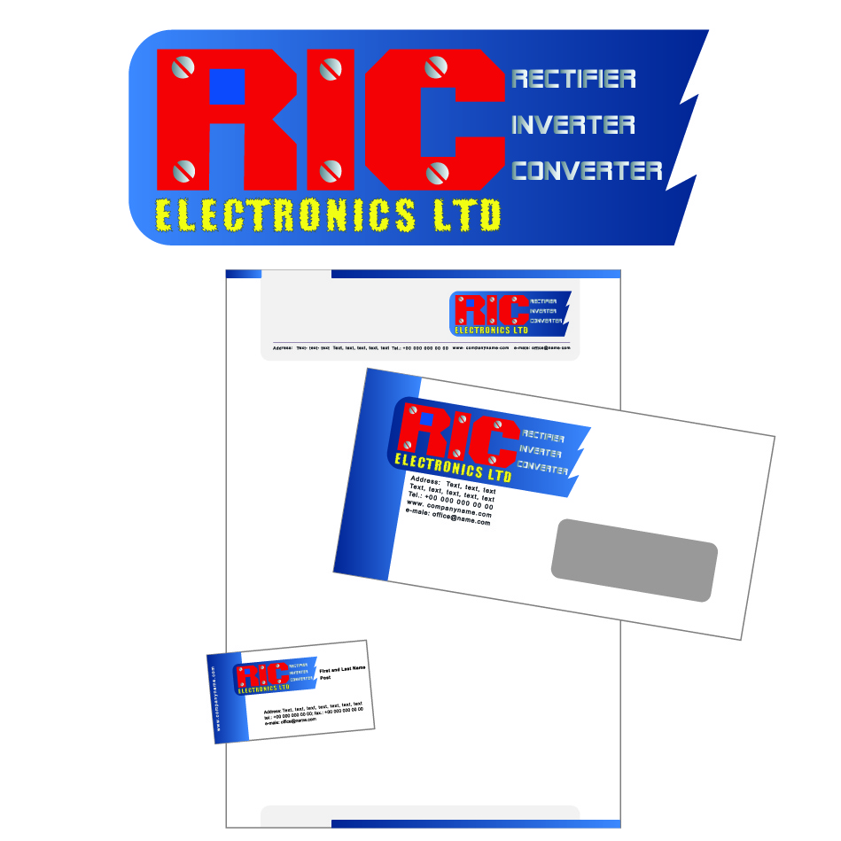 Logo Design by nTia - Entry No. 82 in the Logo Design Contest New Logo Design for RIC Electronics Ltd..