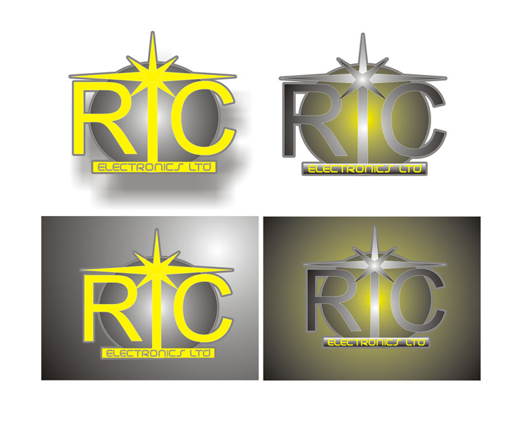 Logo Design by Oleg Korsunov - Entry No. 88 in the Logo Design Contest New Logo Design for RIC Electronics Ltd..