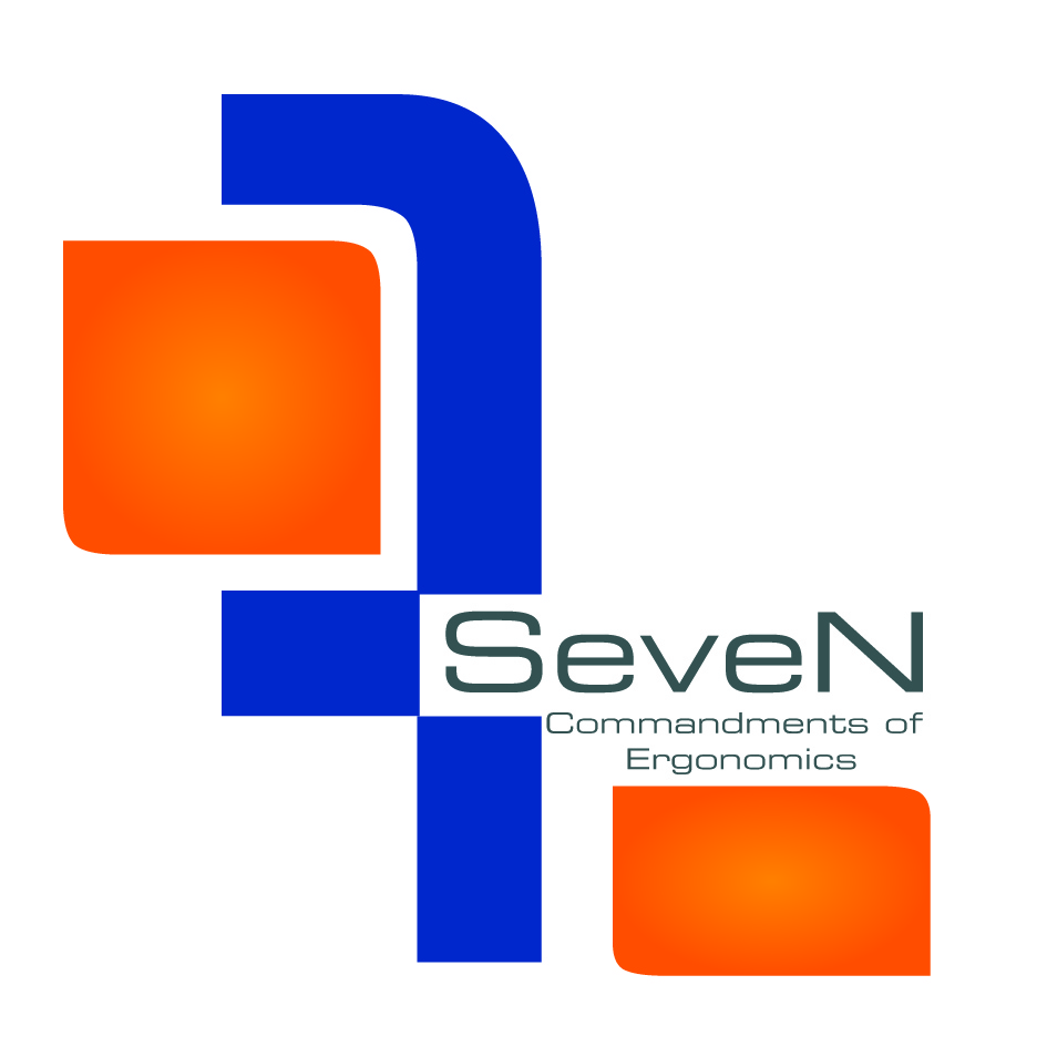Logo Design by nTia - Entry No. 62 in the Logo Design Contest Logo Design for Seven Commandments of Ergonomics.