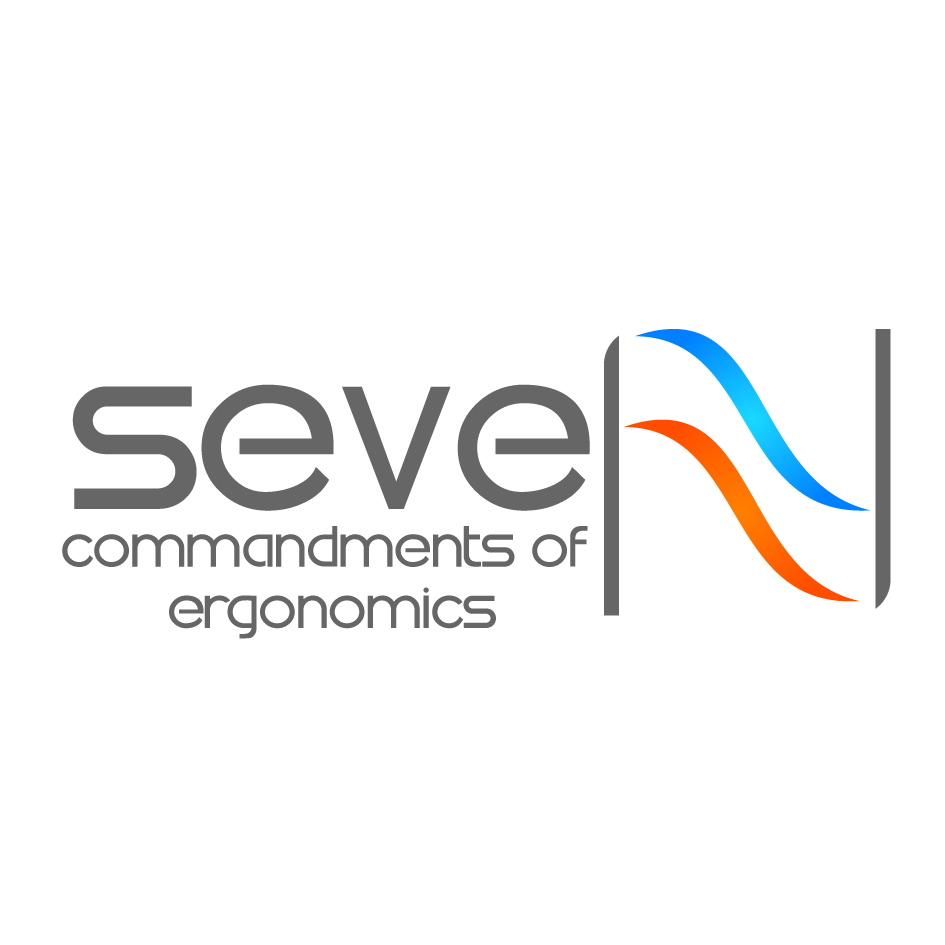 Logo Design by nTia - Entry No. 63 in the Logo Design Contest Logo Design for Seven Commandments of Ergonomics.