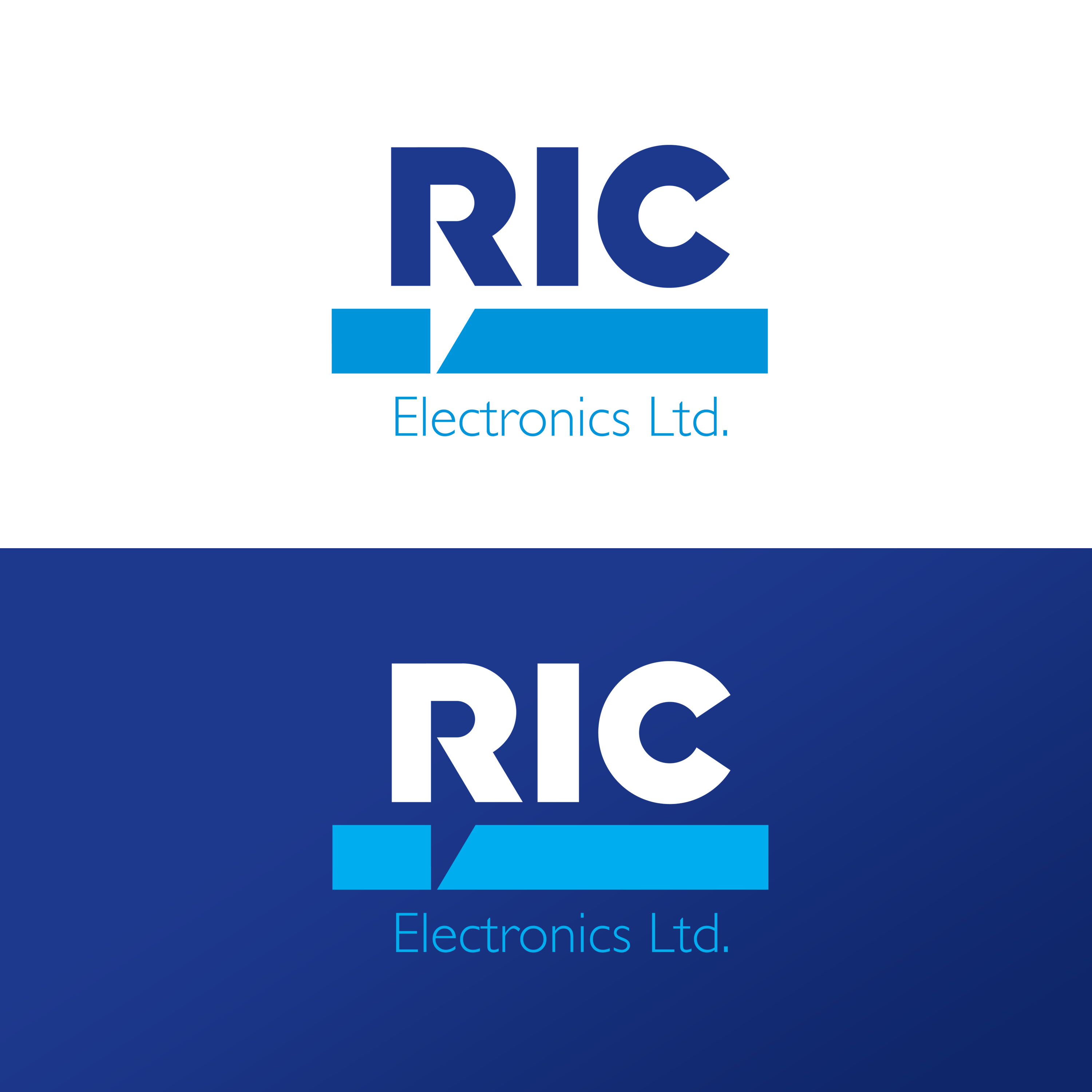 Logo Design by ARTUR PALKA - Entry No. 94 in the Logo Design Contest New Logo Design for RIC Electronics Ltd..