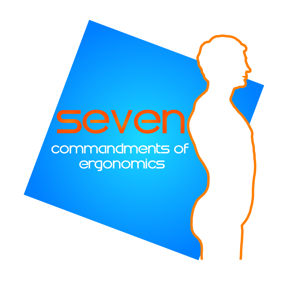 Logo Design by nTia - Entry No. 66 in the Logo Design Contest Logo Design for Seven Commandments of Ergonomics.