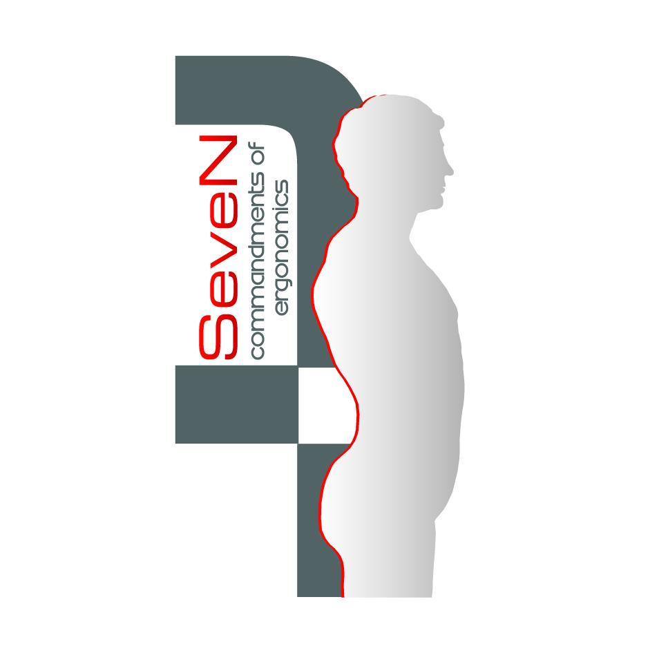 Logo Design by nTia - Entry No. 74 in the Logo Design Contest Logo Design for Seven Commandments of Ergonomics.