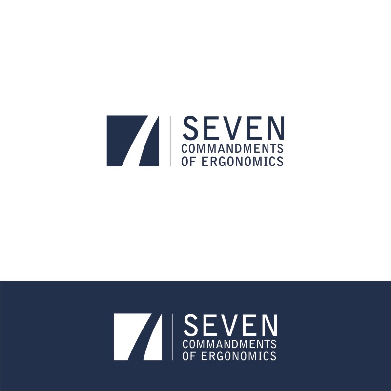 Logo Design by Private User - Entry No. 75 in the Logo Design Contest Logo Design for Seven Commandments of Ergonomics.