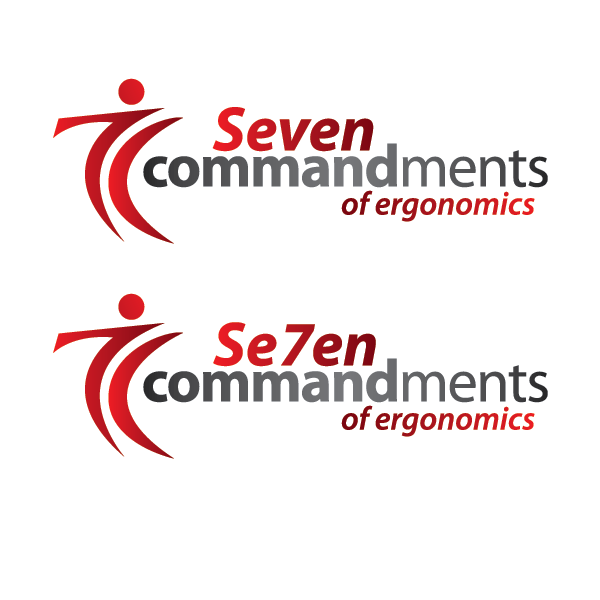 Logo Design by cmcelroy - Entry No. 77 in the Logo Design Contest Logo Design for Seven Commandments of Ergonomics.