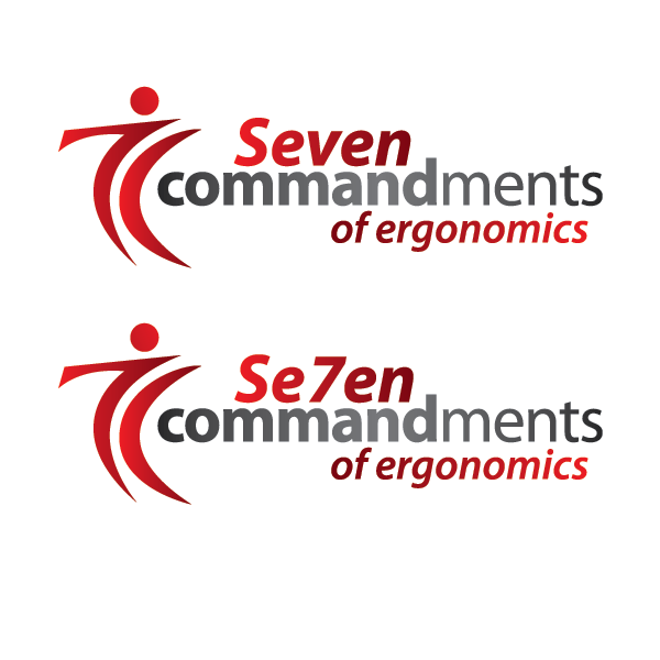 Logo Design by cmcelroy - Entry No. 78 in the Logo Design Contest Logo Design for Seven Commandments of Ergonomics.