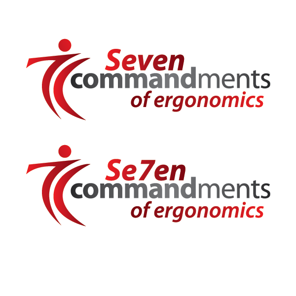 Logo Design by cmcelroy - Entry No. 79 in the Logo Design Contest Logo Design for Seven Commandments of Ergonomics.