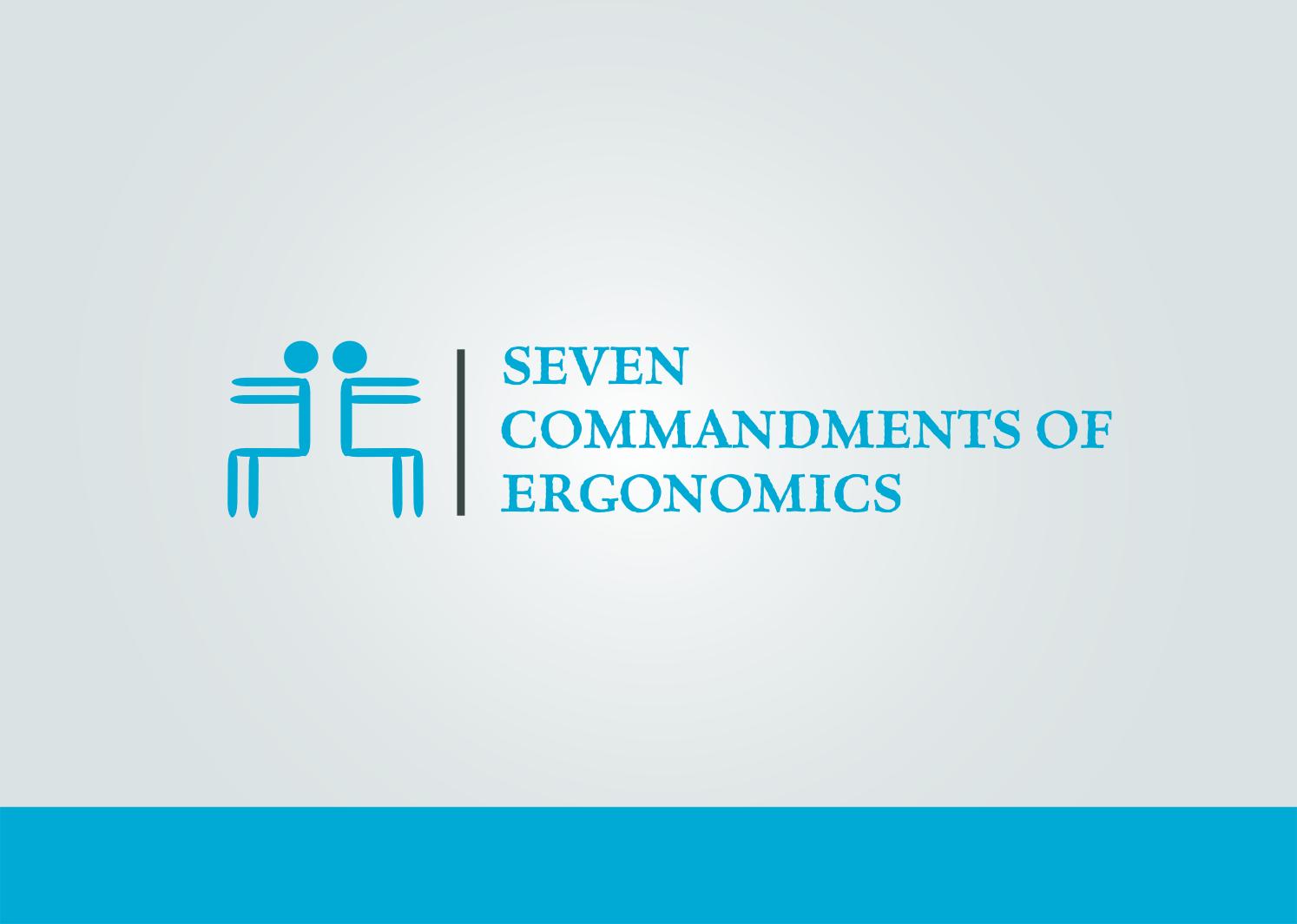Logo Design by Joseph calunsag Cagaanan - Entry No. 81 in the Logo Design Contest Logo Design for Seven Commandments of Ergonomics.