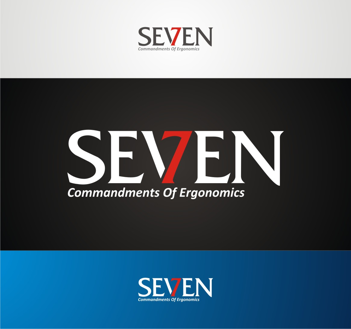 Logo Design by Private User - Entry No. 82 in the Logo Design Contest Logo Design for Seven Commandments of Ergonomics.