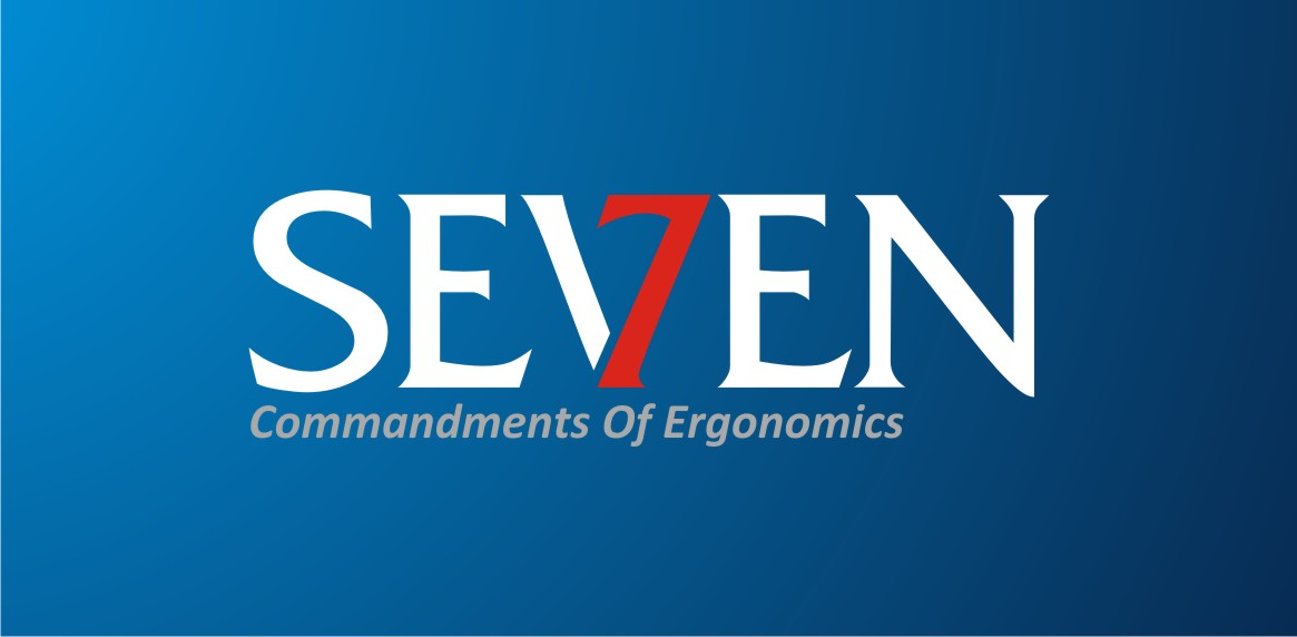 Logo Design by Private User - Entry No. 83 in the Logo Design Contest Logo Design for Seven Commandments of Ergonomics.
