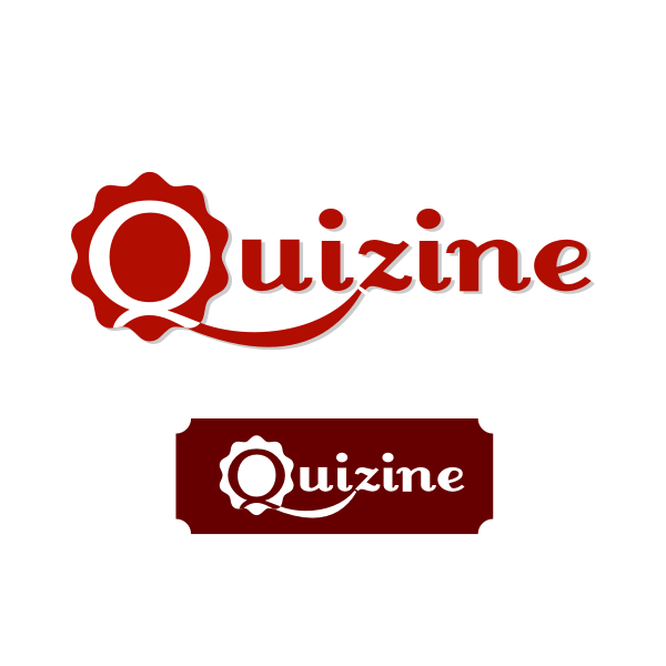 Logo Design by Rudy - Entry No. 54 in the Logo Design Contest Quizine Logo Design.