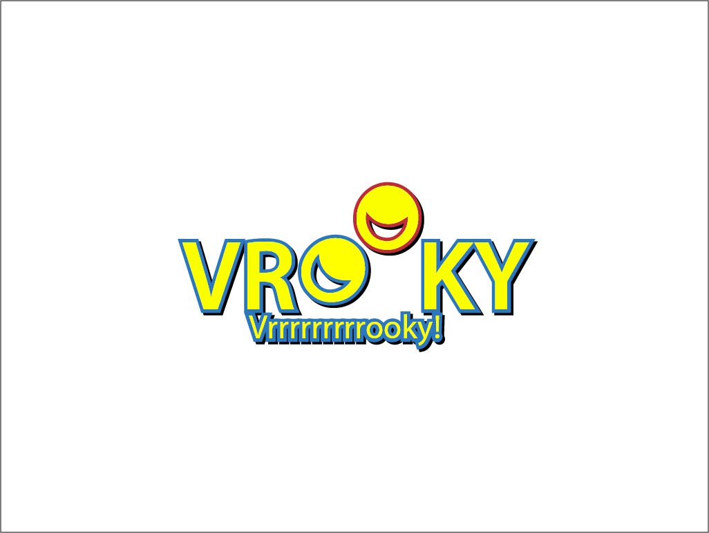 Logo Design by Private User - Entry No. 4 in the Logo Design Contest New Logo Design for Vrooky.