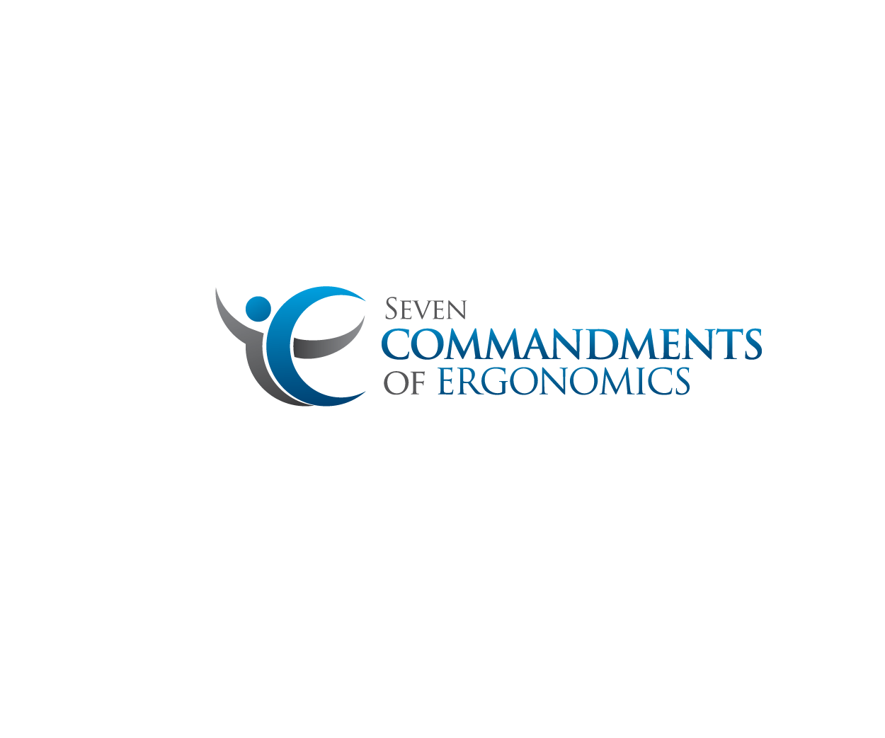 Logo Design by Private User - Entry No. 84 in the Logo Design Contest Logo Design for Seven Commandments of Ergonomics.