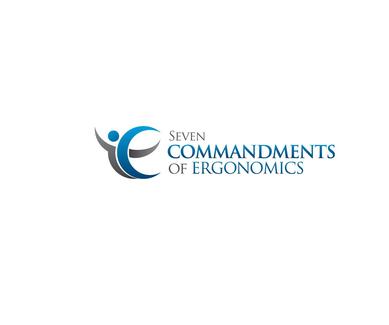 Logo Design by Private User - Entry No. 84 in the Logo Design Contest Logo Design for Seven Commandments of Ergonomics.