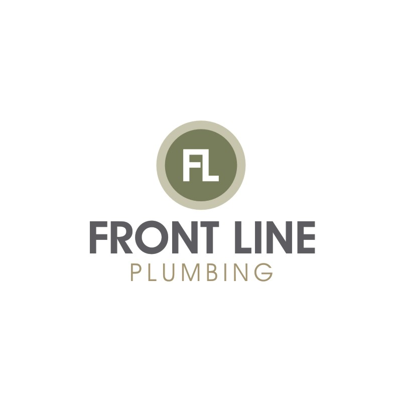Logo Design by Private User - Entry No. 20 in the Logo Design Contest Fun Logo Design for Front Line Plumbing.